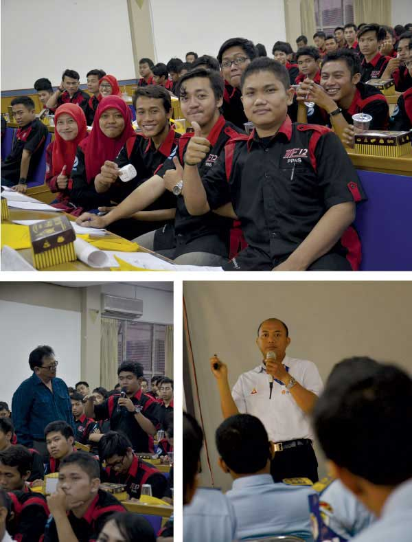 Shell Marine Academy goes to Campus